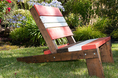 Adirondack chair, reclaimed wood chair, outdoor furniture, rustic outdoor furniture, modern outdoor furniture, barn wood furniture, custom made barn wood furniture