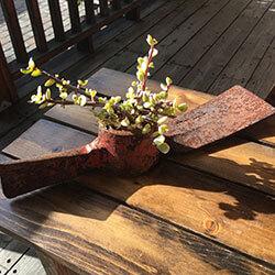 succulents, rustic, reclaimed wood, live succulents, antique tools, ax handle, rustic decor, rustic home decor, old rustic decor, rustic farmhouseh furniture and decor, rustic decor items, urban garden studio