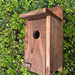 bird house, blue bird house, rustic bird house, reclaimed wood bird house, rustic decor