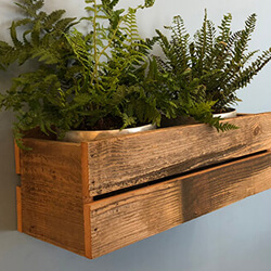 rustic planters, wood planter, barn wood planter, wall wood planter box, farm wood planter, barn wood office planter, rustic wood wall planter, custom rustic planters